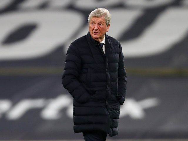 Crystal Palace manager Roy Hodgson pictured on March 7, 2021