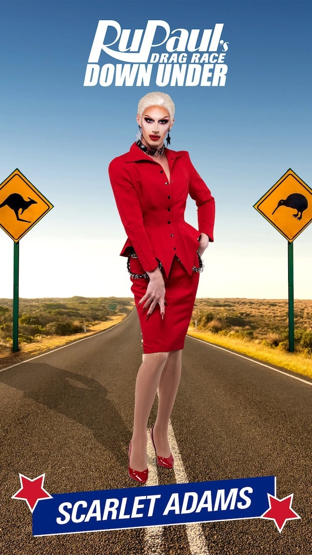 Scarlet Adams on RuPaul's Drag Race Down Under