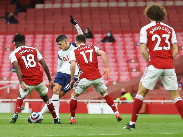 How does Erik Lamela's Rabona compare to the best PL goals this season?