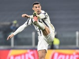 Cristiano Ronaldo in action for Juventus on March 9, 2021