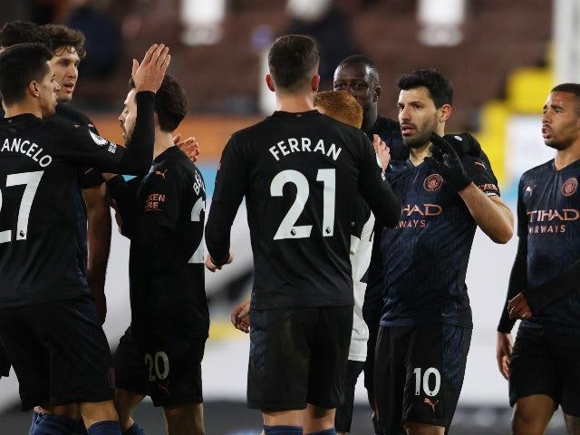 PL roundup: Aguero nets in City win, Burnley ease relegation fears