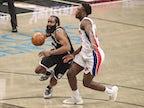 NBA roundup: James Harden stars as Brooklyn Nets overcome Detroit Pistons