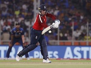 Jason Roy stars as England set India competitive target