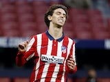 Joao Felix in action for Atletico Madrid on March 10, 2021