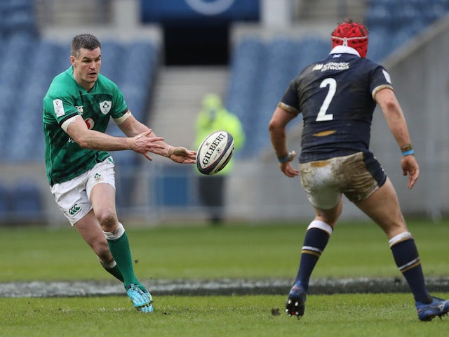 Result: Johnny Sexton stars as Ireland snatch late win against Scotland