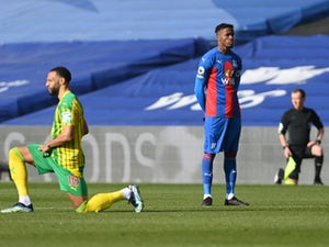 Wilfried Zaha becomes first Premier League player to not take knee