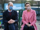 Prince William and the Duchess of Cambridge pictured on March 11, 2021