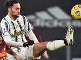 Adrien Rabiot in action for Juventus on February 6, 2021