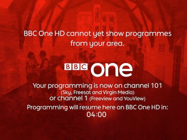 BBC One regions to go HD next month?