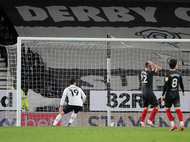 Result: Derby 2-2 Brentford: Bees let two-goal lead slip at Pride Park