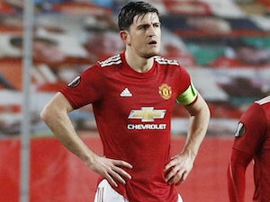 Team News: Harry Maguire out for Manchester United against Liverpool
