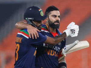 Virat Kohli-inspired India set England 225 target in T20 decider
