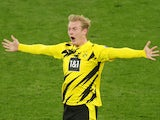 Julian Brandt in action for Borussia Dortmund on March 13, 2021