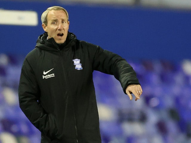 Birmingham City manager Lee Bowyer pictured on March 17, 2021