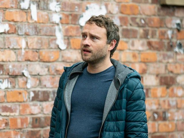 Paul on Coronation Street on April 1, 2021