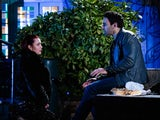 Whitney and Kush on EastEnders on March 29, 2021