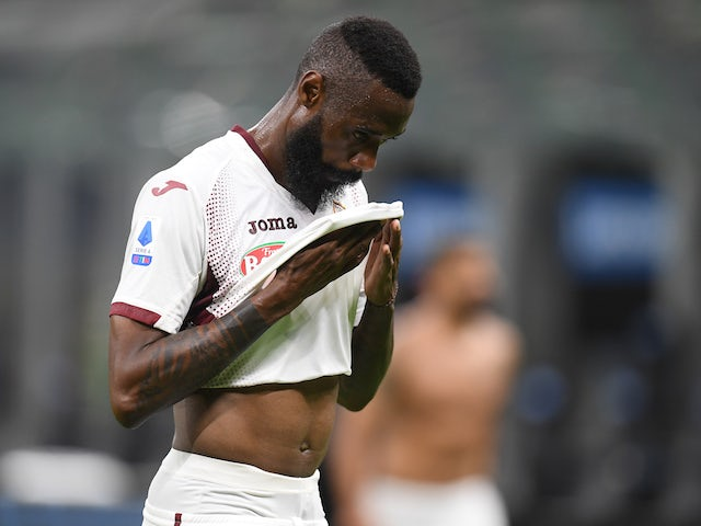 Torino's Nicolas Nkoulou pictured in July 2020
