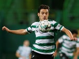 Sporting Lisbon's Pedro Goncalves in action on February 1, 2021