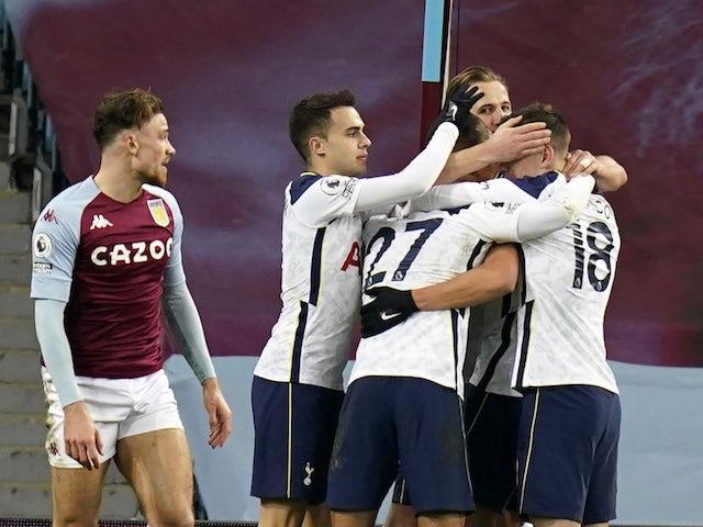 Result: Villa 0-2 Tottenham: Mourinho's side bounce back at Villa Park
