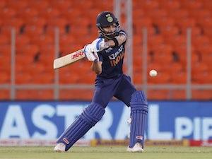 India's Virat Kohli hits 77 not out as England chase 157
