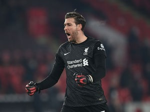 Liverpool searching for new backup goalkeeper?