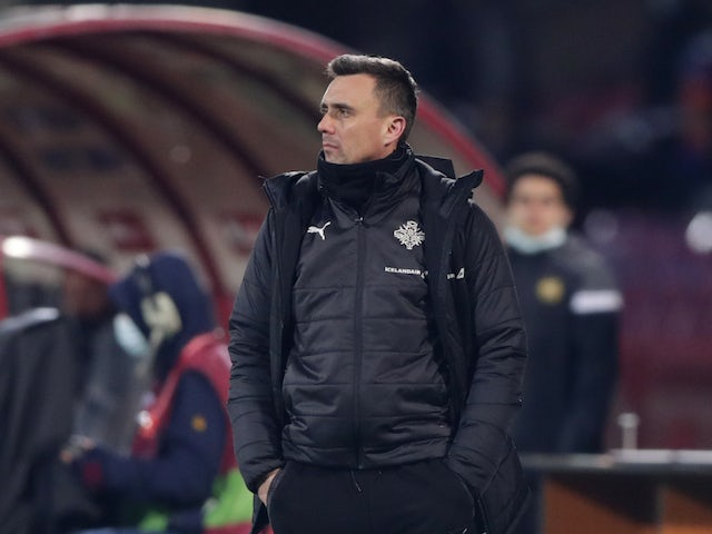 Islandski trener Arnar Witherson je posnel 28. marca 2021