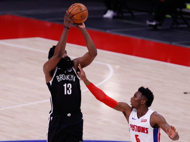 NBA roundup: James Harden propels Nets to win over Pistons