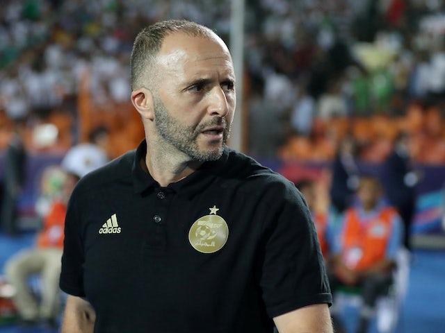 Algeria coach Djamel Belmadi pictured in 2019