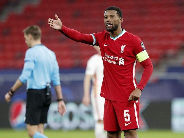 Liverpool 'refusing to meet Wijnaldum contract demands'