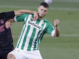 Real Betis midfielder Guido Rodriguez pictured in September 2020
