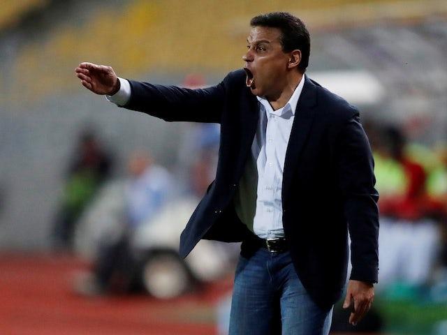 Egypt manager Hossam El Badry pictured in November 2019