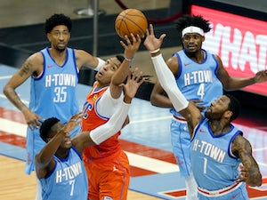 NBA roundup: Thunder condemn Rockets to 20th straight defeat