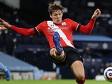 Jannik Vestergaard in action for Southampton on March 10, 2021
