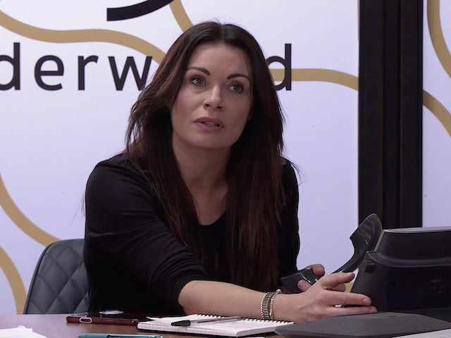 Carla on the first episode of Coronation Street on April 7, 2021