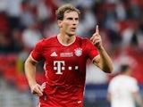 Leon Goretzka in action for Bayern Munich in September 2020