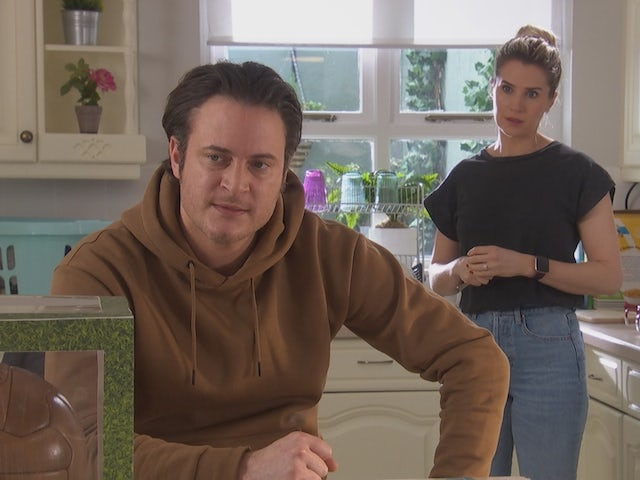 Luke and Mandy on Hollyoaks on April 5, 2021