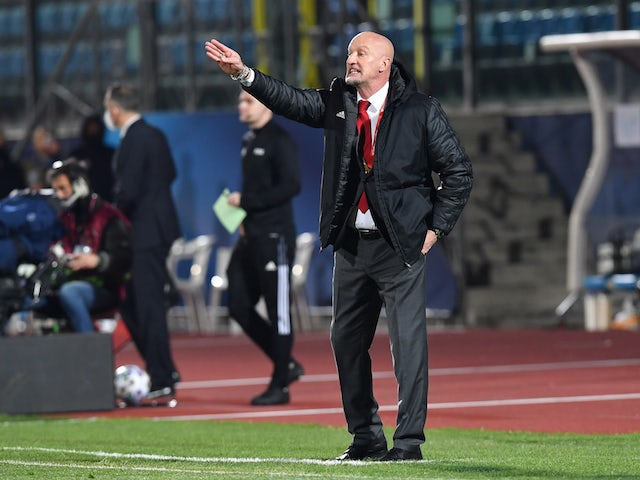 Hungary coach Marco Rossi pictured on March 28, 2021