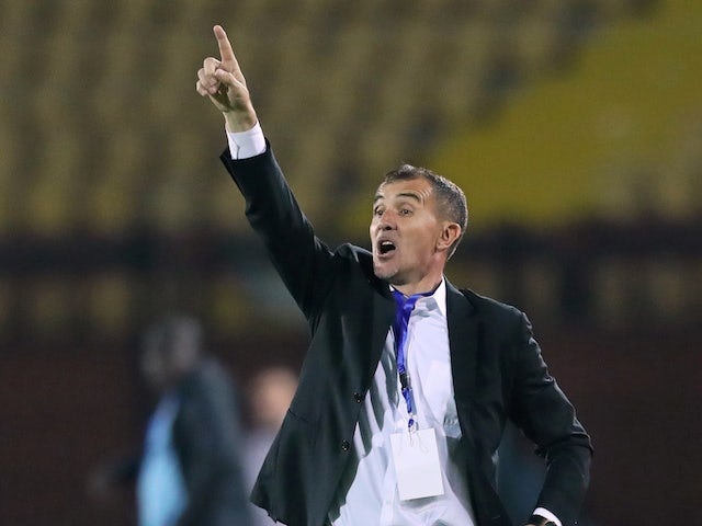 Milutin Sredojevic, now in charge of Zambia, pictured in 2019