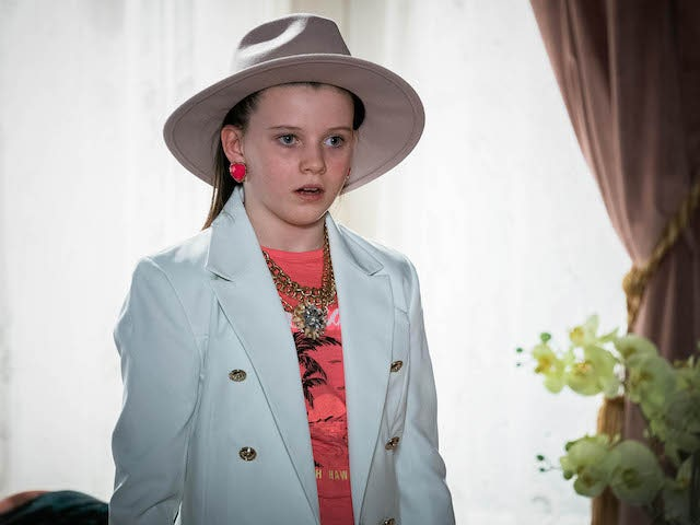 Lily on EastEnders on April 5, 2021