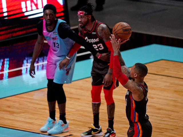 NBA roundup: Lillard and McCollum star in Blazers win
