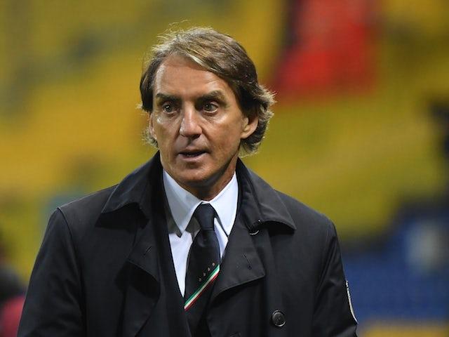 Il Ct dell'Italia Roberto Mancini ha risposto il 25 marzo 2021