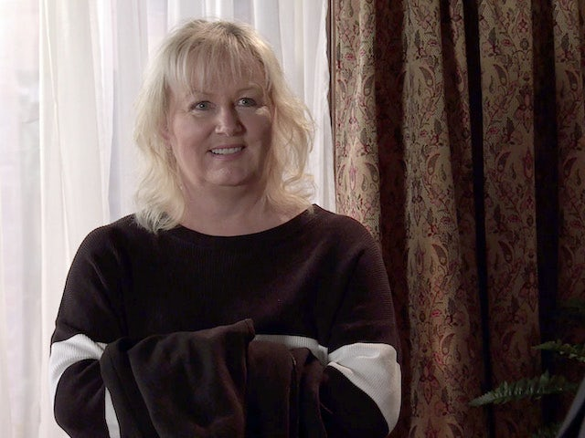 Eileen on the second episode of Coronation Street on April 7, 2021