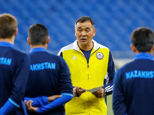 Talgat Baysufinov in charge of Kazakhstan in 2016