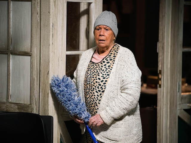 Mo on EastEnders on April 5, 2021