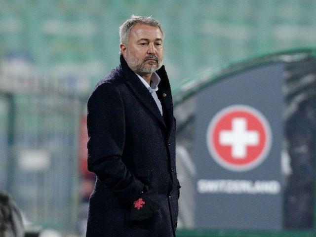 Nella foto il 25 marzo 2021 dall'allenatore bulgaro Yasen Petrov