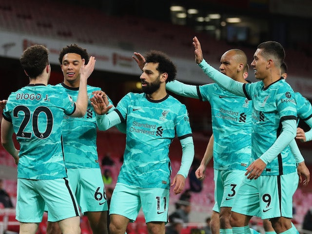 Result: Arsenal 0-3 Liverpool - highlights, man of the match, stats