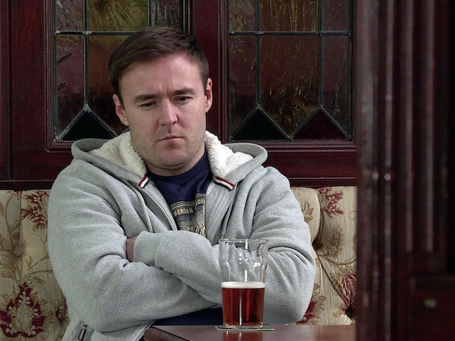 Tyrone on the second episode of Coronation Street on April 12, 2021