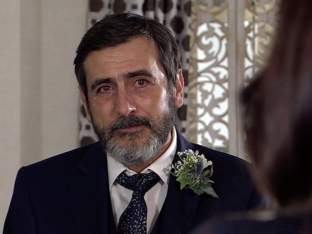 Peter on Coronation Street on April 16, 2021