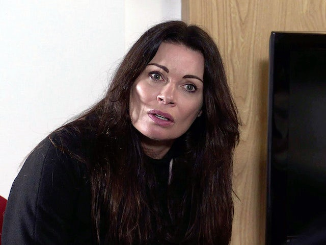 Carla on the second episode of Coronation Street on April 12, 2021