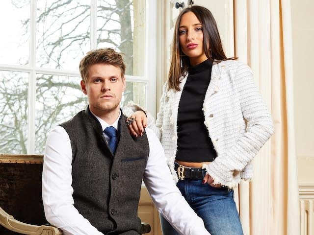 James Taylor and Maeva D'Ascanio for Made In Chelsea series 21